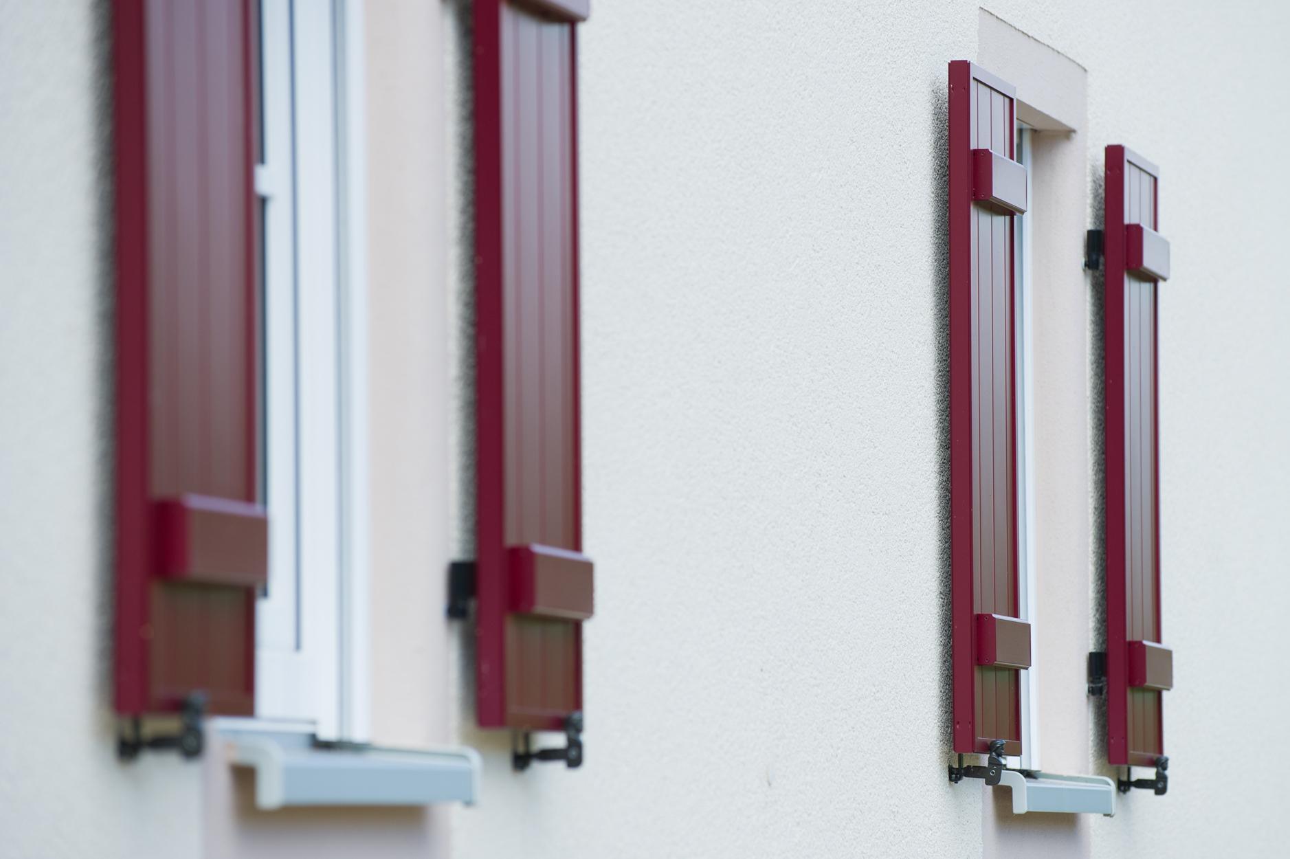 Aluminium Fensterladen Maderbock