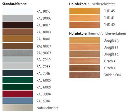 Kunststofffenster ral farben  Holz/Alu-Fenster | Maderböck