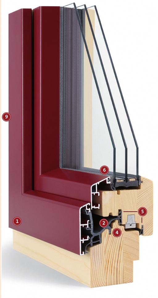 Holz/Alu-Fenster | Maderböck